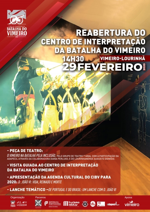 Reabertura do Centro de Interpretaテァテ」o da Batalha do Vimeiro