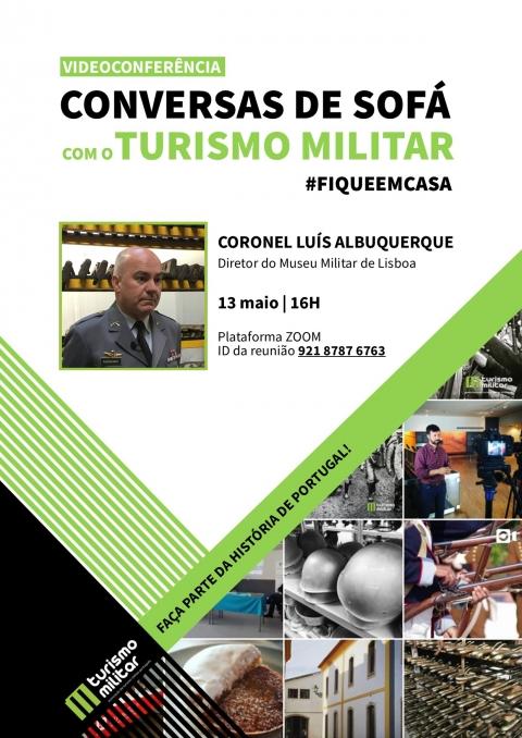 Conversas de Sofテ。 com o Turismo Militar #fiqueemcasa