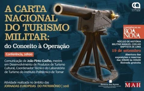 A Carta Nacional do Turismo Militar: do conceito テ� operaテァテ」o