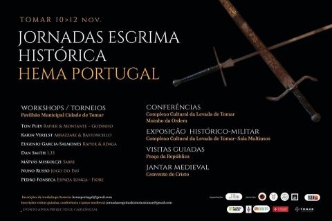 Jornadas de Esgrima Histórica em Tomar